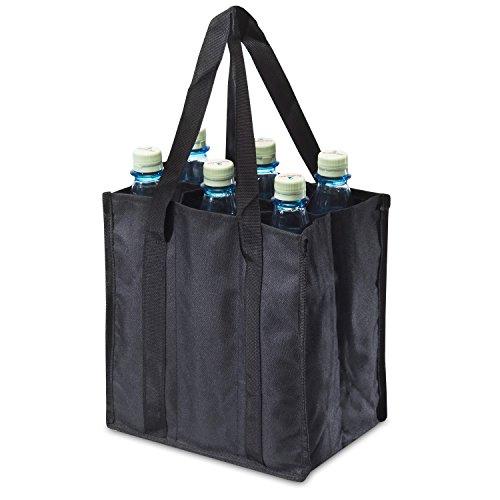 achillesr-bottle-bag-6er-adb06bl-flaschentasche-fur-6-flaschen-schwarz-25-cm-x-17-cm-x-27-cm