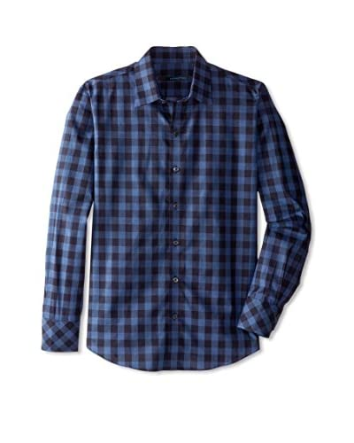 Zachary Prell Men's Valencia Long Sleeve Gingham Shirt