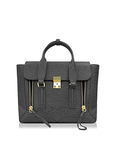 31-phillip-lim-womens-af160179tskashcharcoal-grey-leather-handbag