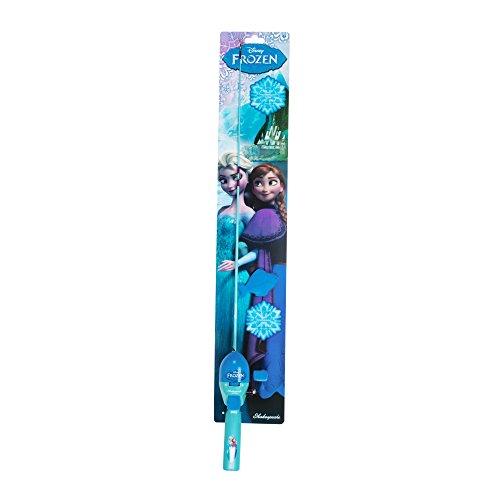 Shakespeare disney frozen fishing kit blue right home for Frozen fishing pole