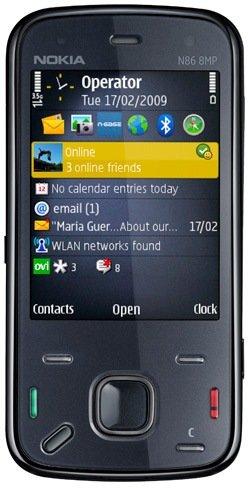 Nokia N 86 Phone 8 Mp Quadband Unlocked in Box