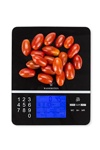 Digital Nutrition Scale; Nutrition Facts Display Scale - Accurate Food and Nutrient Calculator by Wasserstein (Food Calorie Scale compare prices)