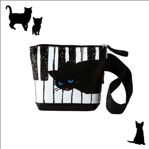 手付きポーチ(黒猫)SCB0212