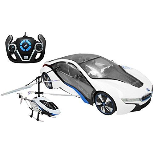 bentley-set-de-coche-bmw-i8-con-licencia-oficial-a-escala-1-14-y-helicoptero-control-remoto-a-pilas