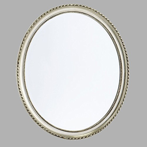 BAROCK RAHMEN FACETTENSPIEGEL 70×60 cm von XTRADEFACTORY Spiegel Wandspiegel Antik silber