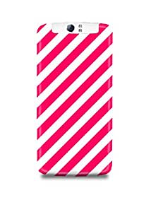 Pink Stripes Oppo N1 Case