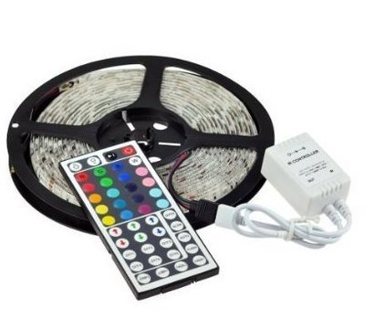 SoLed Waterproof 5M/16.4Ft SMD 5050 RGB 300 LED Color Changing Flexible LED Strip Light (Color Changing Leds compare prices)