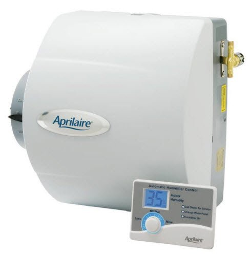 Aprilaire Humidifier, 24V Drainless Whole House Humidifier w/ Auto Digital Control .7 Gallons/hr