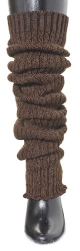 Brown Thigh High Leg Warmers By Kd Dance New York, Slouchy & Fashionable Made In Usa