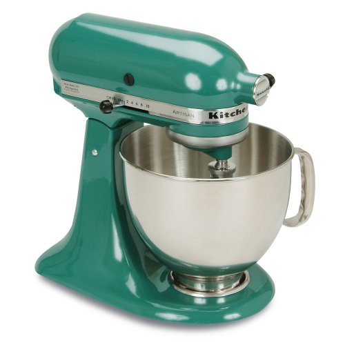 kitchenaid ksm150psbl artisan series 5quart mixer bay leaf - Artisan Kitchenaid Mixer
