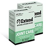 Extend - Joint Care For Dogs - 2 Box Special! - Glucosamine for Dogs with MSM & Ascorbic Acid Pure Grade Ingredients - 100% Money Back Guarantee