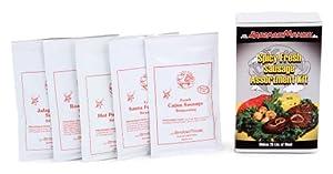 Spicy Fresh Sausage Seaosning Assortment Kit