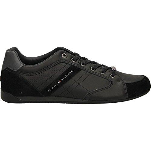 Uomo scarpa sportiva, color Nero , marca TOMMY HILFIGER, modelo Uomo Scarpa Sportiva TOMMY HILFIGER REAM 1C Nero