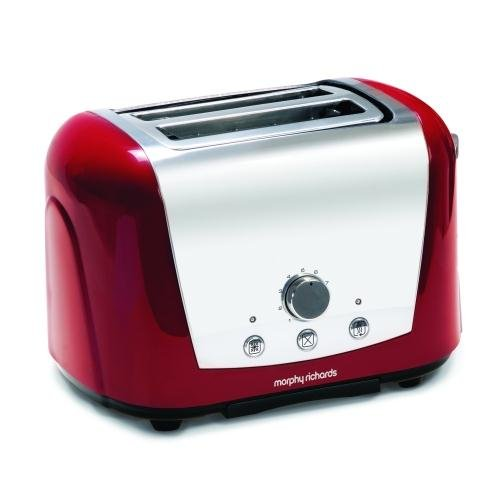 Morphy Richards Accents 44266 2 Slice Toaster, Red from Mph