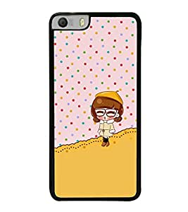 Fuson Premium 2D Back Case Cover Cute baby With white Background Degined For Micromax Canvas Knight 2 E471
