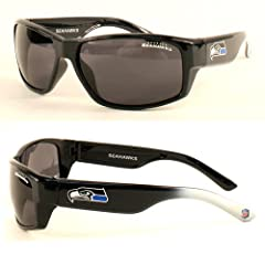 NFL Officially Licensed Seattle Seahawks Chollo-style Rectangular Sunglasses by NFL