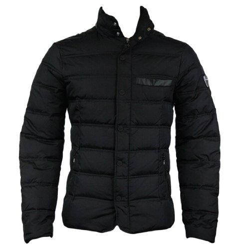 Emporio Armani EA7 271354 2A340 Mens Down Quilted Jacket Black M