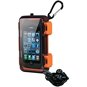 Eco Pod Rugged and Waterproof Case for MP3 players and Smartphones including the iPhone 5 and Galaxy 3