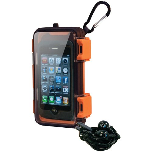 Great Price Grace Digital Eco Pod Rugged and Waterproof Case for MP3 players and Smartphones including the iPhone 5 and Galaxy 3