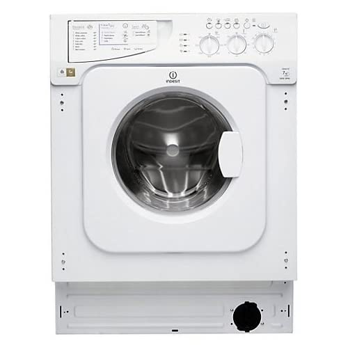 Indesit Integrated Washing Machine, 7kg Load - IWME147 - White - Z 571539