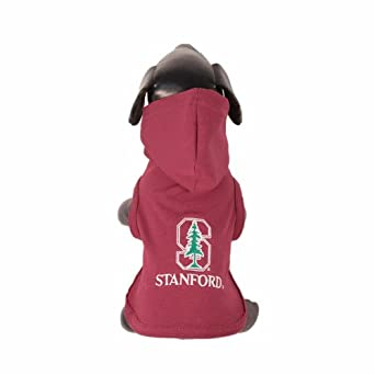Buy NCAA Stanford Cardinal Cotton Lycra Hooded Dog Shirt by All Star Dogs