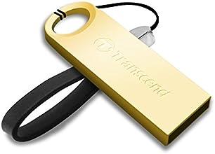 Transcend TS32GJF520G - Memoria USB de 32 GB, dorado