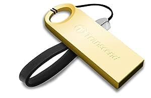 Transcend TS16GJF520G JetFlash 520G 16GB Speicherstick (Metallgehäuse, wasserfest, USB 2.0) gold