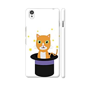 Colorpur Cat In The Magican Hat Artwork On OnePlus X Cover (Designer Mobile Back Case) | Artist: Torben