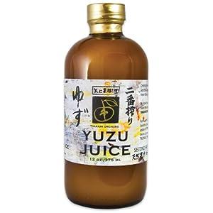 Yakami Orchard 100 % Pure Japanese Yuzu Juice 12 oz. / 375 ml