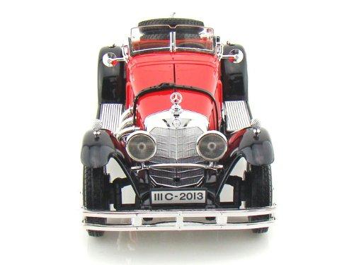 ダイキャストカー 1928 メルセデスベンツ SSK レッド 1/18 (並行輸入品)