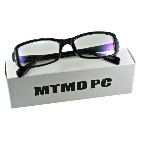 mtmdPC PCメガネ スクエア 黒ぶち/グロスブラック gf_5312_pre