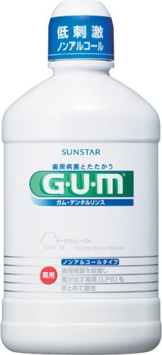 GUM デンタルリンス ノンアルコール 250ml