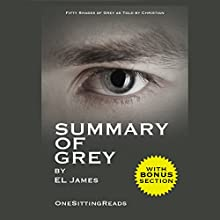 Summary of Grey: Fifty Shades of Grey by EL James: Fifty Shades of Grey as Told by Christian - One Sitting Reads | Livre audio Auteur(s) :  OneSitting ReadsDigest Narrateur(s) : Rich Morrocco