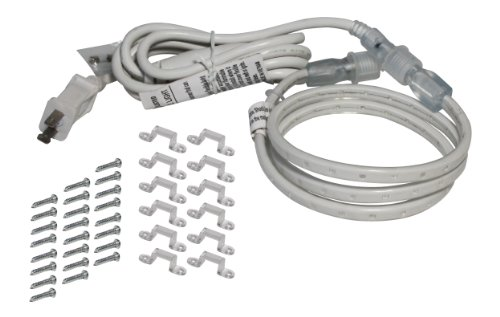 American Lighting 120-Tl60-13.2-Wh 120-Volt 5000K Led Tape-Rope Hybrid Lighting Kit With 5-Feet Cord And Mounting Hardware, 13.2-Feet, Bright White