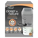 Pre Sterilized Tommee Tippee Closer To Nature Milk Protection Bags Breast Milk Storage Bags