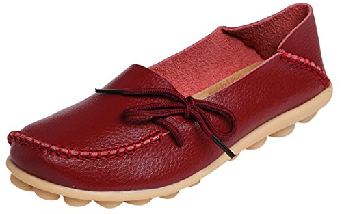 serene-womens-leather-cowhide-casual-lace-up-flat-driving-shoes-boat-slip-on-loafers-105bmus-burgund