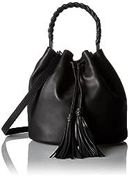 Vince Camuto Zinya Drawstring Shoulder Bag, Black, One Size