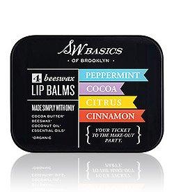 S.W. Basics エスダブリュー ベーシックス Vegan Lip Balm リップバーム Flights リップバーム