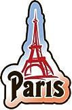 トラベルステッカー パリ Paris エッフェル塔 旅行シール~スーツケース・タブレットPCに
