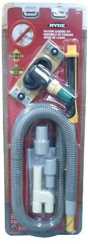 Hyde Tools 09175 Dust-Free Drywall Vacuum Sander with Pole