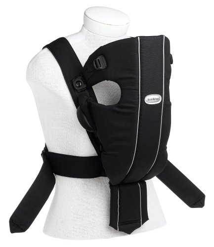 BABYBJ?RN Baby Carrier Original - City Black