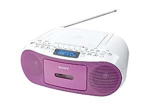 SONY CDラジオカセットコーダー ピンク CFD-S50/P
