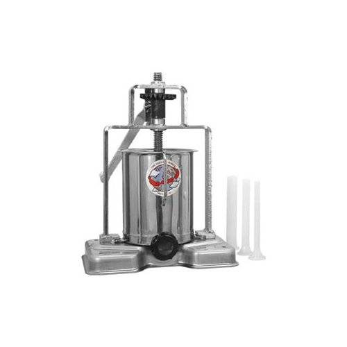 TSM Products 15lb Sausage Stuffer with Stainless Steel Frame