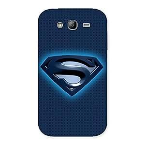 Impressive Premier Blue Day Multicolor Back Case Cover for Galaxy Grand
