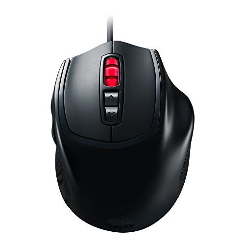 Cooler Master Xornet II Optical Gaming Mouse with RGB Lighting, Buttons & Claw Grip Design (SGM-2002-KLON1) (Cooler Master Black compare prices)