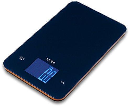 MIRA Chefs Professional Digital Kitchen Scale, Blue by MIRA Brands
