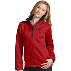 Cleveland Indians Ladies Traverse Jacket (Team Color) by Antigua