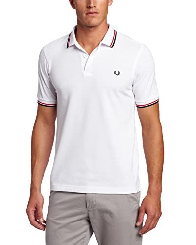 FRED PERRY Polo Blanco L