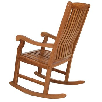 Teak Rocking Chair With Gently Sloped Seat Curved Lumbar Support Solid Brass Fittings u0026 Constructed of Java Teak Review  sc 1 st  Rocking Chairs & Rocking Chairs: Teak Rocking Chair With Gently Sloped Seat Curved ...