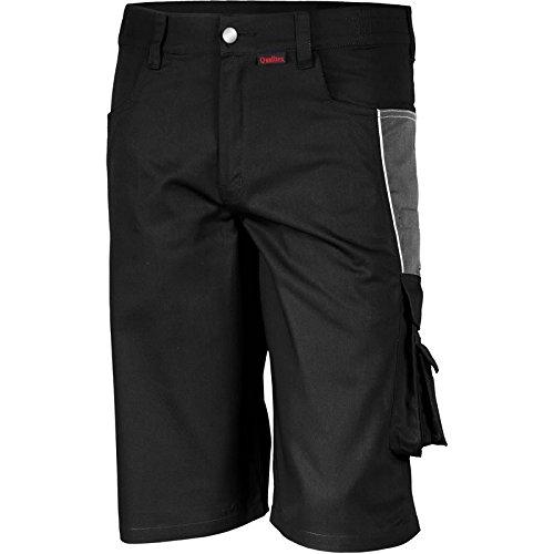 Qualitex-Shorts-PRO-MG-245-mehrere-Farben-54SchwarzGrau